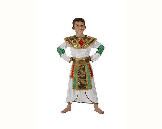 Disfraz de egipcio blanco, 3-4 años