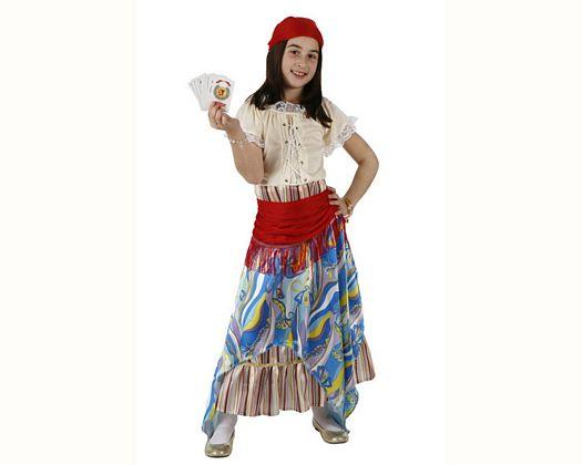 Disfraz de pitonisa, Talla 3 (7 – 9 años)