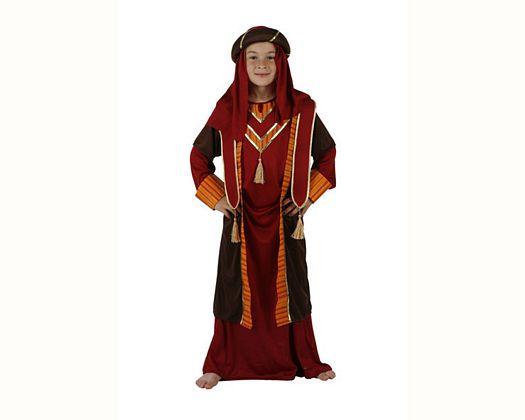 Disfraz de arabe rojo, Talla 2 (5 – 6 años)
