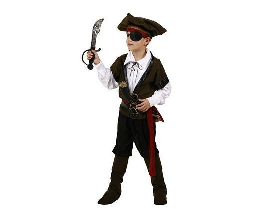 Disfraz de pirata de lujo, 7-9