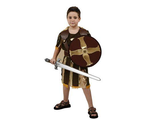 Disfraz de guerrero romano escudo, Talla 1 (3 – 4 años)