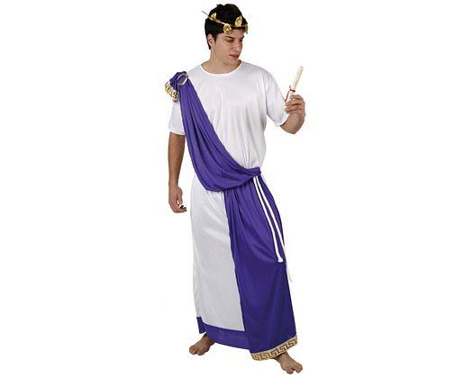 Disfraz de romano túnica, adulto