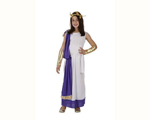 Disfraz de romana tunica, Talla 2 (5 – 6 años)