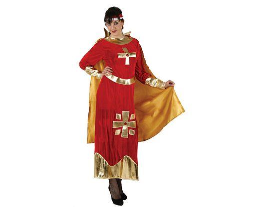 Disfraz de dama medieval, adulto