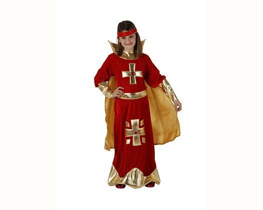 Disfraz de dama cristiana, Talla 3 (7 – 9 años)
