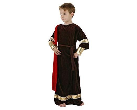 Disfraz de senador romano, 7-9 años