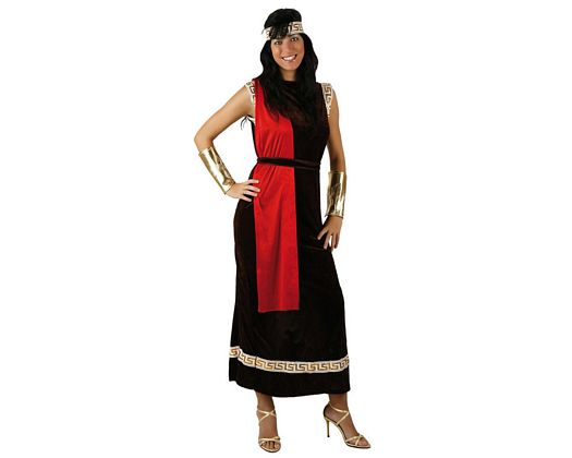 Disfraz de senadora romana, adulto
