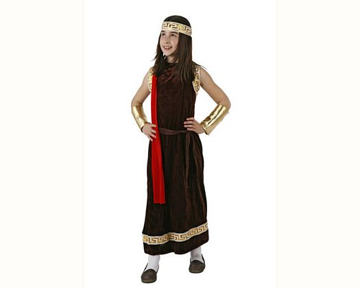 Disfraz de senadora romana, 5-6 años