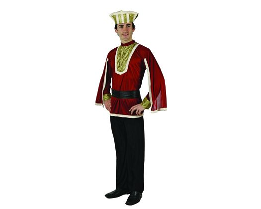 Disfraz de principe rojo, adulto