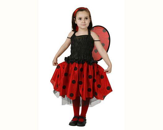 Disfraz de mariquita, Talla 1 (3 – 4 años)