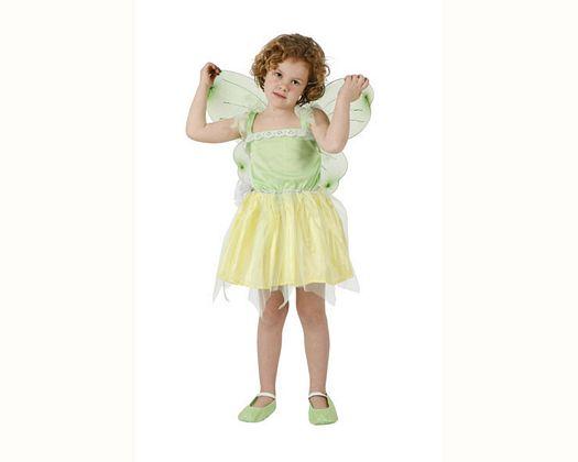 Disfraz de hada encantada verde Talla 3 (7 – 9 años)