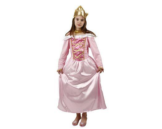 Disfraz de reina rosa, Talla 4 (10 – 12 años)