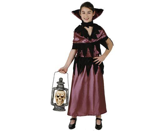 Disfraz de vampiresa violeta, 7-9