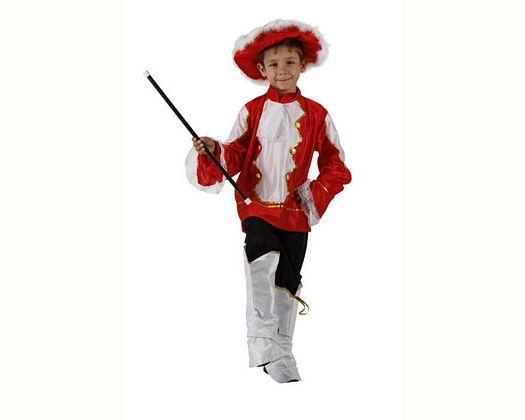 Disfraz de musico rojo, Talla 1 (3 – 4 años)