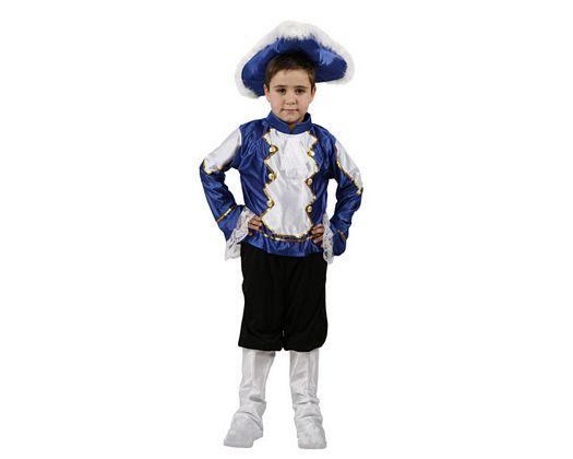 Disfraz de musico azul, Talla 4 (10 – 12 años)