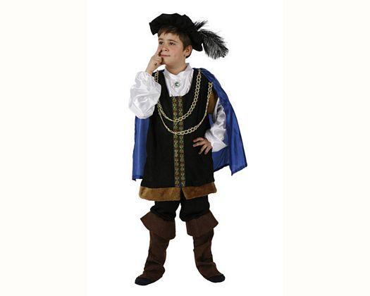 Disfraz de principe gorro, Talla 1 (3 – 4 años)