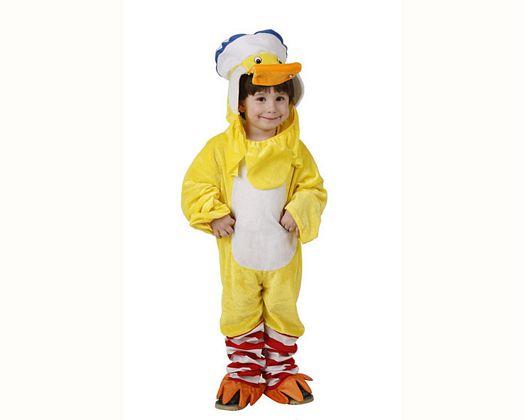 Disfraz de patito amarillo, 7-9 94797AT 13,