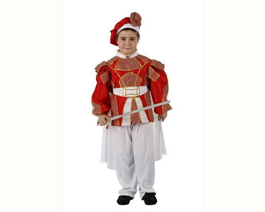 Disfraz de principe, 3-4 años