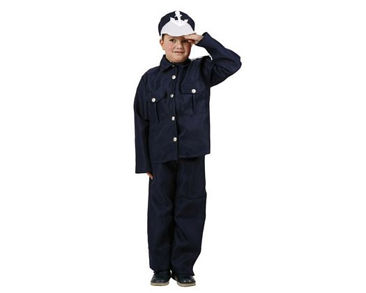 Disfraz de marinero, 3-4 años