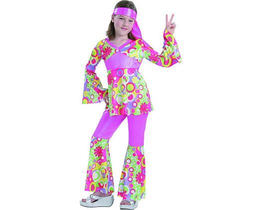 Disfraz de hippie, 5-6 años