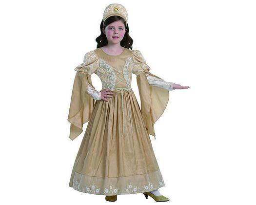 Disfraz de princesa, 7-9 años