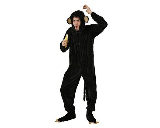 Disfraz de mono, adulto Talla 2 (M-L)