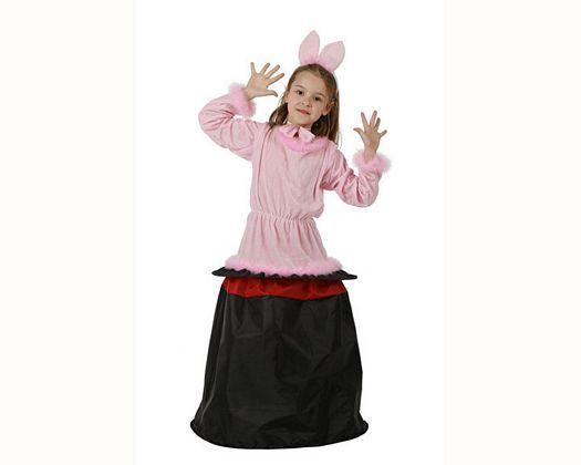 Disfraz de conejita en chistera, 10-12