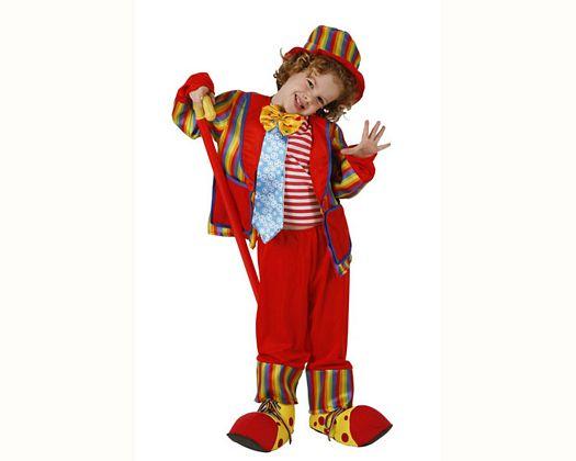 Disfraz de payasa con chaqueta Talla 3 (7 – 9 años)