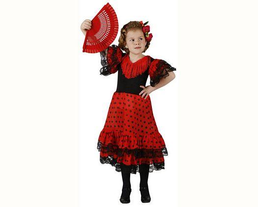 Disfraz de bailaora flamenca lunares, 3-4