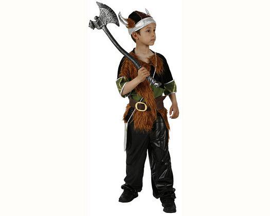 Disfraz de vikingo, 3-4 años