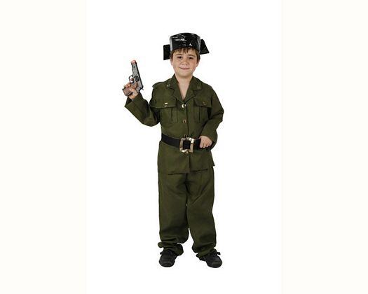 Disfraz de guardia civil, 5-6 años
