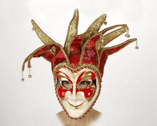 Mascara veneciana arlequin