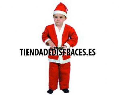 Disfraz de Papa Noel infantil 4-6 años económico