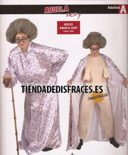 Disfraz de Abuela Sexy adulta