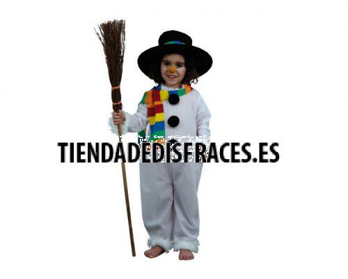 Disfraz de Muñeco de Nieve Infantil 4-6 años económico