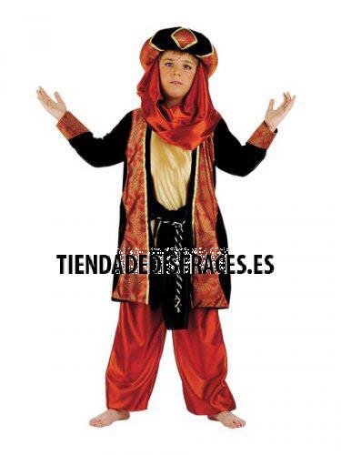 Disfraz de Paje Tuareg Caldera infantil deluxe
