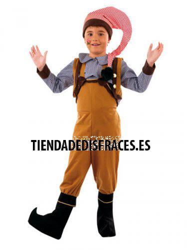Disfraz de Elfo Saltarín infantil deluxe