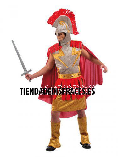 Disfraz de Romano tela adulto deluxe