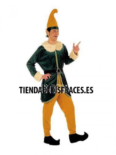 Disfraz de Elfo adulto deluxe talla M