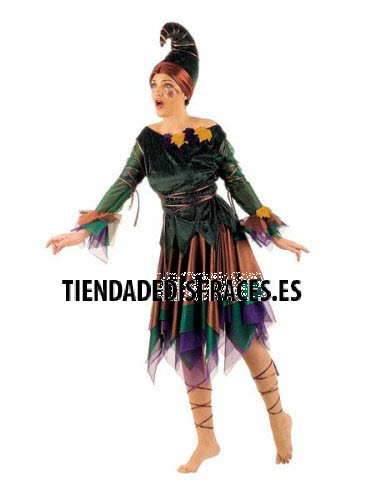 Disfraz de Elfa adulta deluxe-