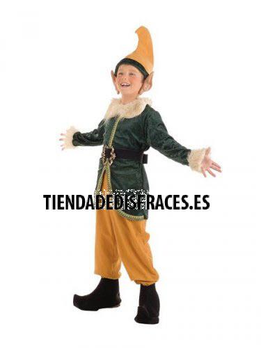 Disfraz de Elfo infantil deluxe