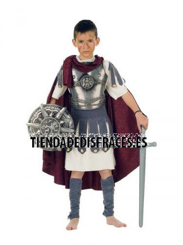 Disfraz de Troyano infantil deluxe 7-9 años