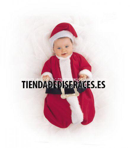 Disfraz de Nana Papa Noel Bebé deluxe