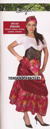 Disfraz de Zíngara
