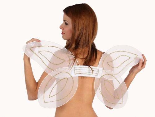 Accesorio carnaval alas mariposa, 31x55cms