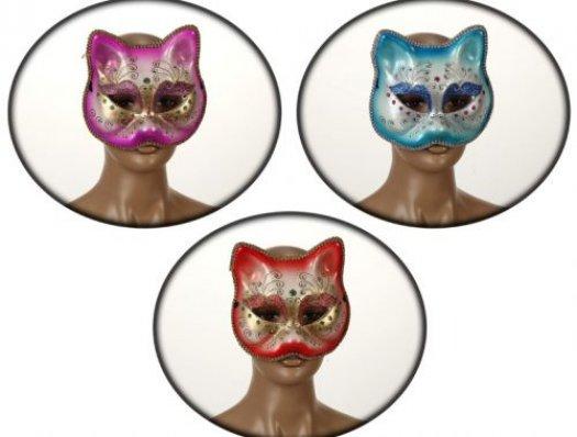 Descripción: Antifaz silueta gato 3surt Antifaz silueta gato 3surt