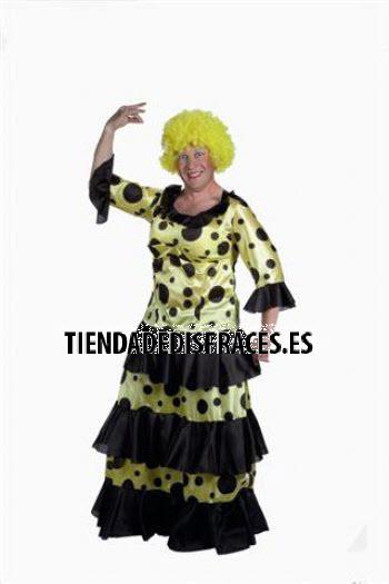 Disfraz de Sevillana hombre adulto