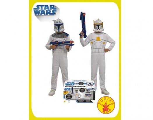 Cofre disfraz de clone wars 2 personajes