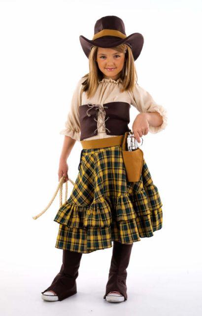 Disfraz Vaquera Bandida 11 a 13 años