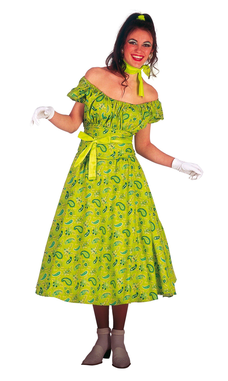Disfraz Adulto Anos 60 Mujer